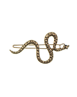 Goudhaartje Haarclip goudkleurig slang
