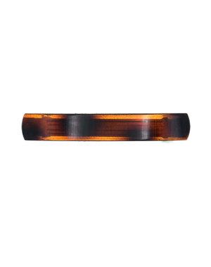 Goudhaartje Patent speld bruin/zwart gevlekt
