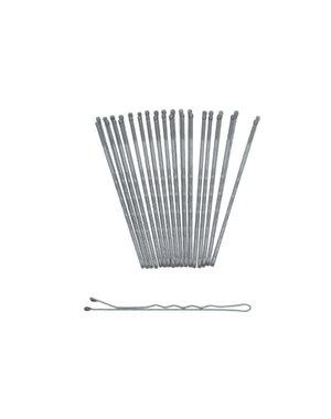 Goudhaartje Haarschuifjes set van 18 stuks kleur zilverkleurig
