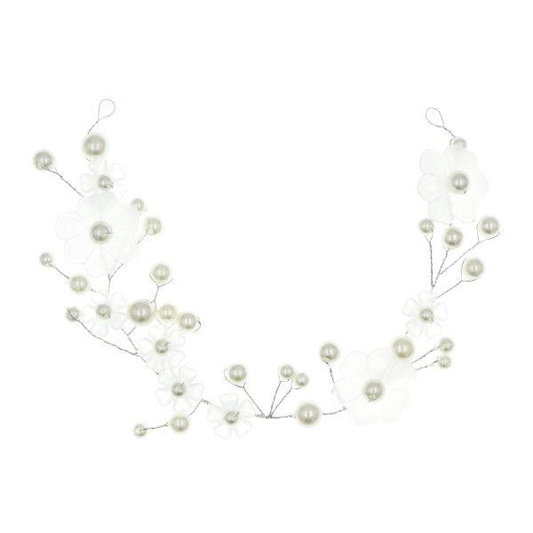 Goudhaartje Haarketting ornament speciaal bloemen transparant