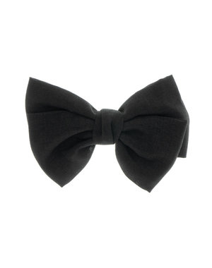 Goudhaartje Haarstrik in de kleur zwart