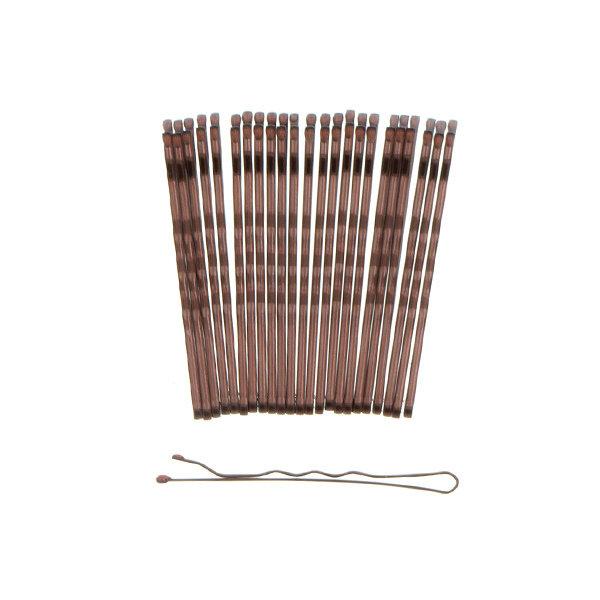 Goudhaartje Haarschuifjes set van 24 stuks kleur bruin
