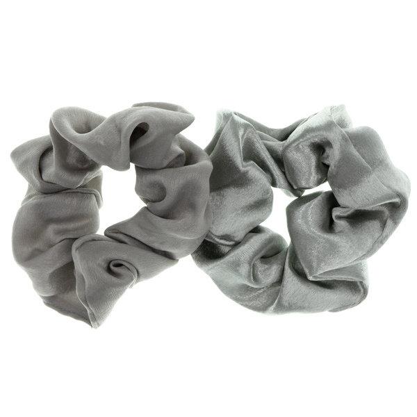 Goudhaartje Scrunchie grijstinten 2 stuks
