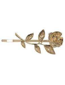Goudhaartje Haarschuifje goudkleurig roos