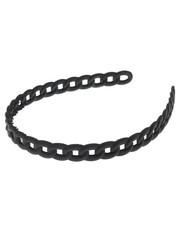 Goudhaartje Diadeem mat zwart model ketting