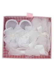 Goudhaartje Gift set baby wit