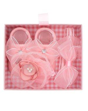 Goudhaartje Gift set baby roze