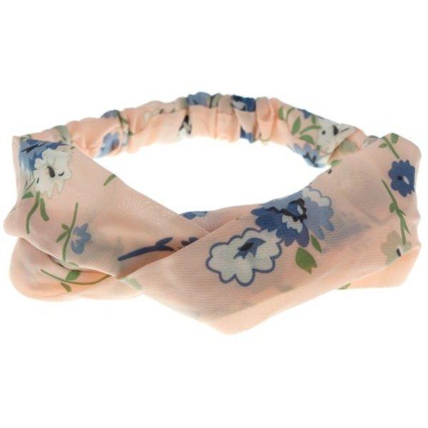 Me Lady Haarband bloemen roze