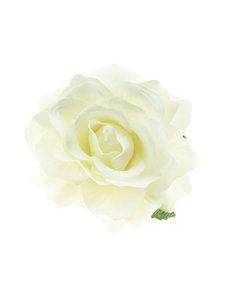 Goudhaartje Haarbloem roos crèmekleurig L op alligator knipje