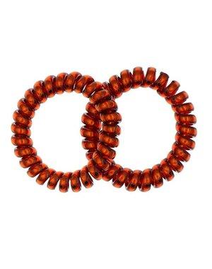 Goudhaartje Kabel haarelastiek rood