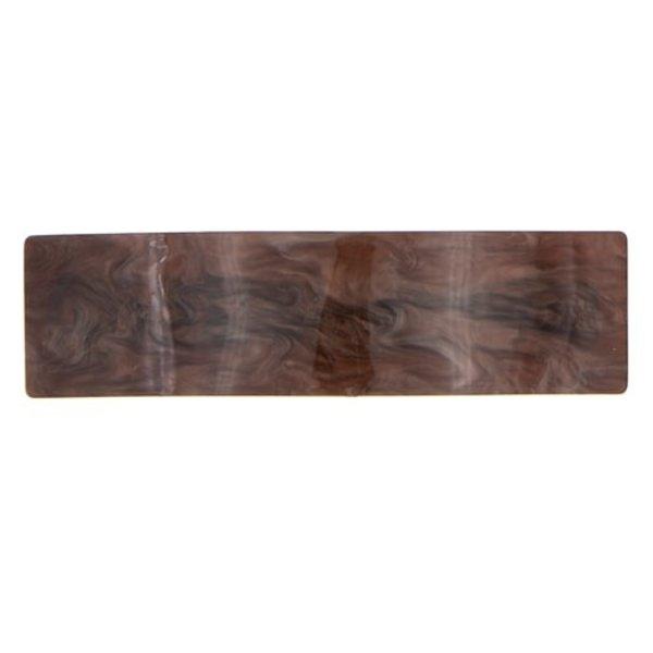 Goudhaartje Patent speld bruin chocolade