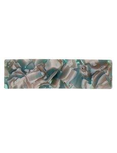 Goudhaartje Patent speld marmer look groen/bruin/crème