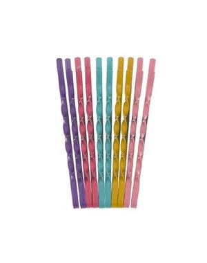 Goudhaartje Haarschuifjes vrolijke kleuren 10 stuks
