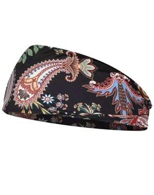 Goudhaartje Haarband zwart fantasie multicolor