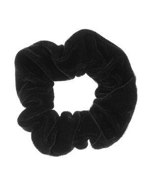 Goudhaartje Scrunchie velvet zwart