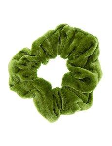 Goudhaartje Scrunchie velvet groen