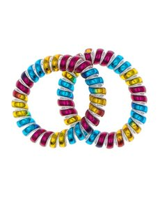 Goudhaartje Kabel haarelastiek multicolor