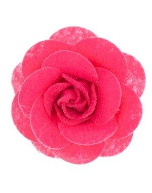 Urban Hippies Haarbloem vilt Urban Hippies roze