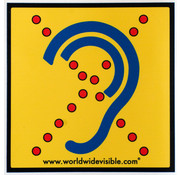 AllesVoorOren Limited Hearing Sicherheitsschild Hörbehinderte