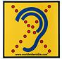 Limited Hearing Sicherheitsschild Hörbehinderte