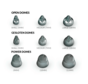 Unitron Smokey domes