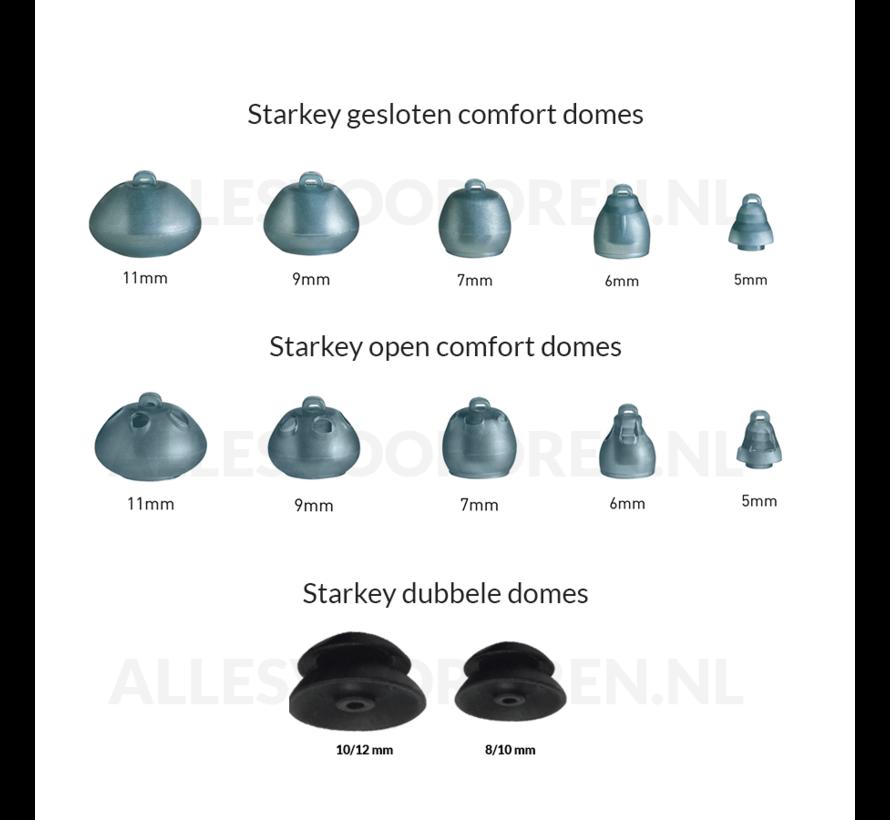 Starkey RIC Comfort domes