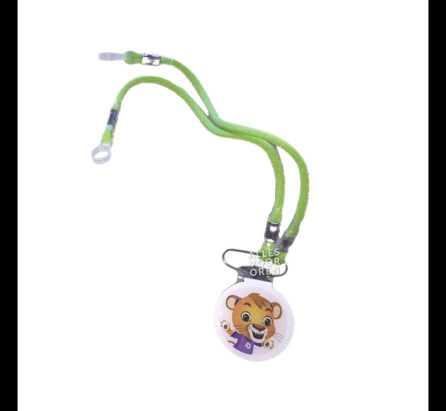Sicherheitsclip mit Kabel für Hörgeräte