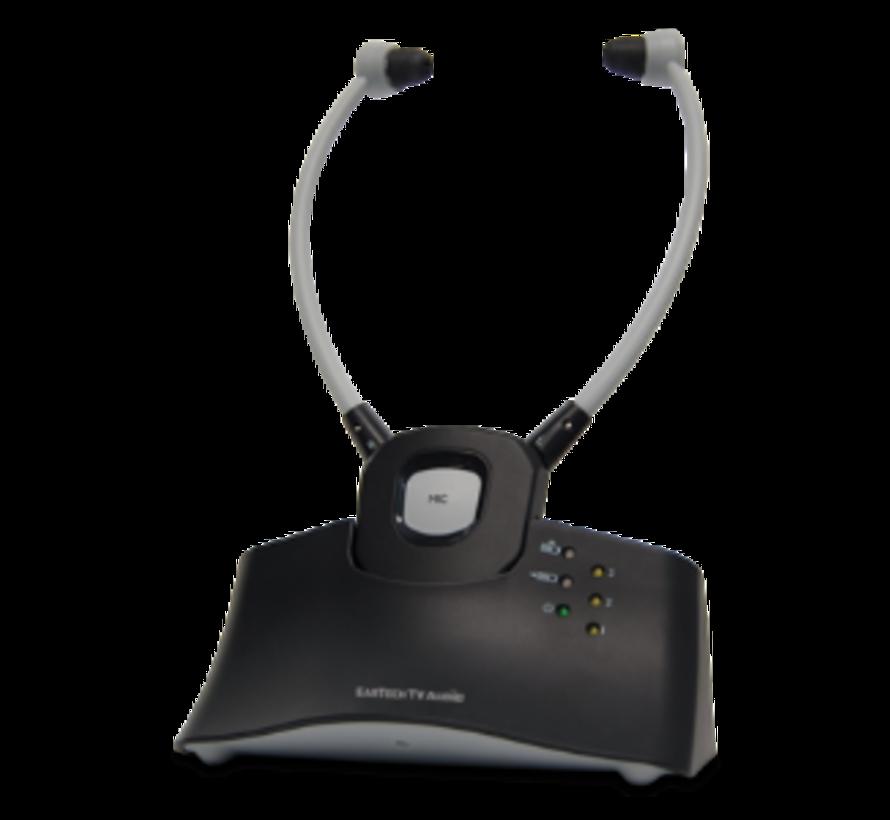EarTech TV-Hörsystem mit Kinnbügelhörer 2.4 GHZ
