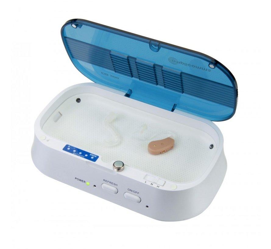 Amplicomms DB200 Plus droogbox voor hoortoestellen