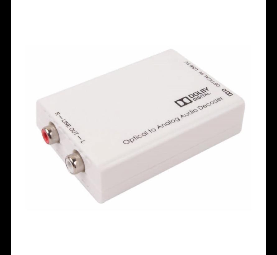 Widex TV DEX aansluit converter Toslink