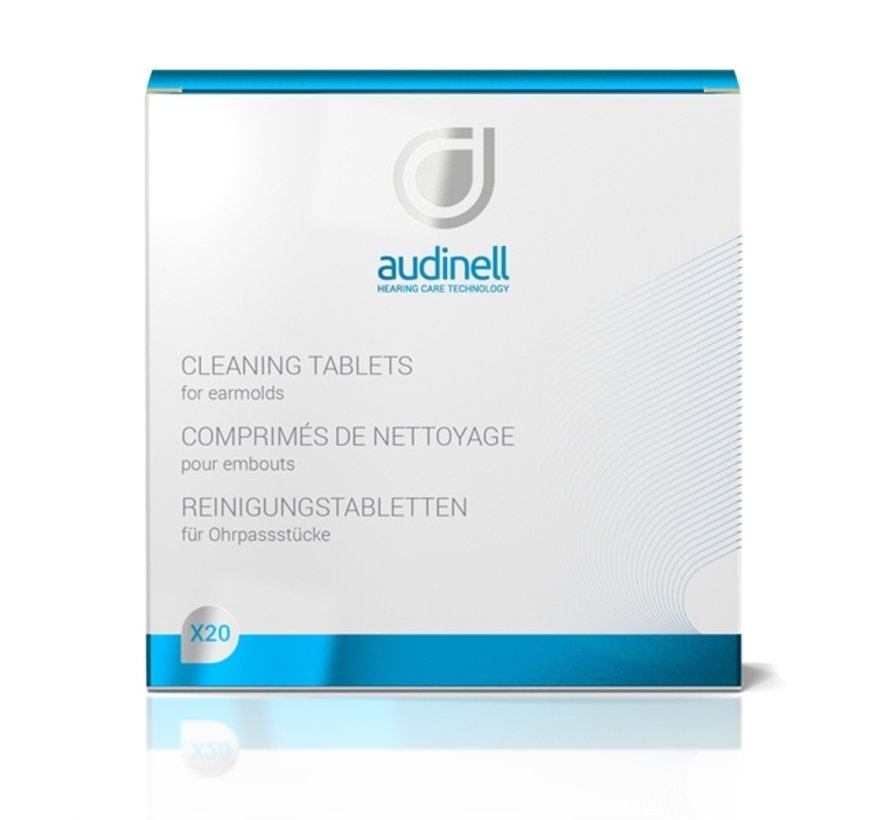 Audinell reinigingstabletten 20 stuks