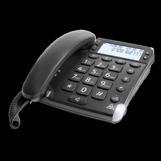 Festnetztelefon für Hörgeschädigte