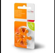 audifon Audifon 13 Oranje  hoortoestelbatterij