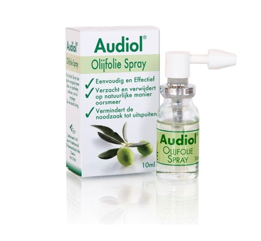 Audiol olijfolie verstuiver tegen vastzittend oorsmeer