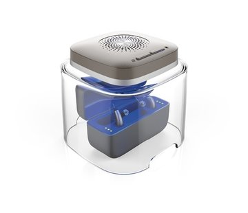 Flow Med Dry Cap UV-2  Droogbox voor oplaadbare hoortoestellen