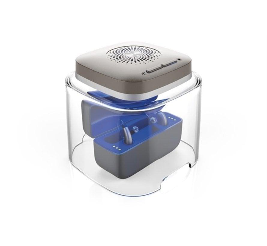 Dry Cap UV-2  Droogbox voor oplaadbare hoortoestellen