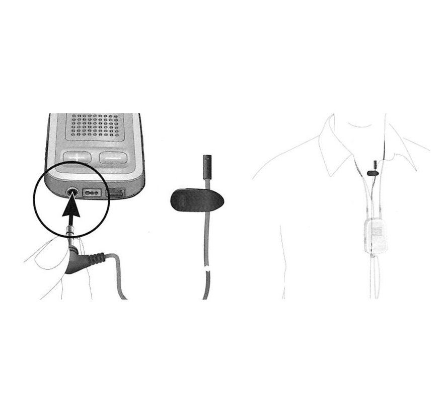 Phonak MC1 externes Mikrofon für ComPilot