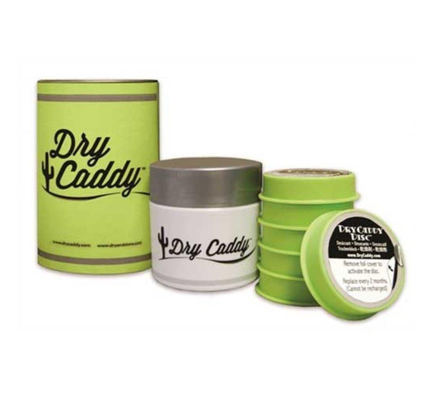 Drycaddy droogsysteem voor hoortoestellen