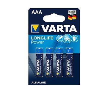 Varta Varta Longlife AAA batterijen LR03