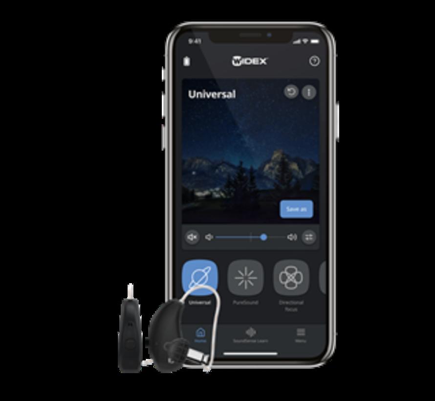 Widex Moment 440 R D wiederaufladbares Hörgerät