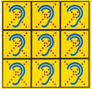 AllesVoorOren Limited Hearing Textiel sticker klein