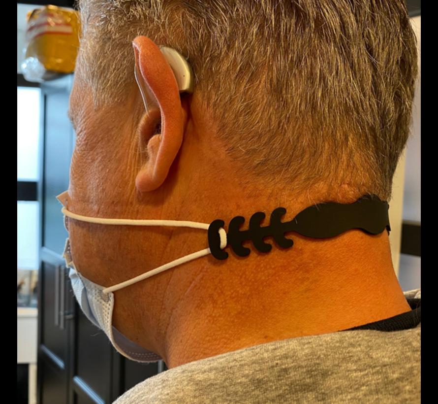 Safeclip Flexibler Kunststoffclip für Mundmaske
