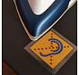 Limited Hearing Bügelaufkleber 35x35mm