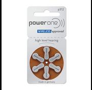Power One PowerOne 312 (PR41) braun Hörgerätebatterie