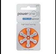Power One Power One P13 (PR48) Oranje hoortoestelbatterij