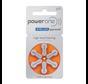 Power One P13 (PR48) orange Hörgerätebatterie