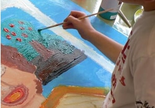 Kunstenmakers kinderworkshop