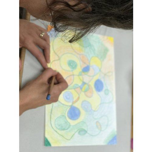 Intuïtief tekenen & schilderen 20 maart 2020