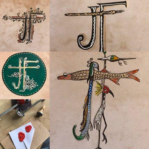 Kasteel Helmond Workshop Middeleeuwse Letters in Kasteel Helmond