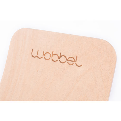 Wobbel Wobbel original - Blank gelakt bos